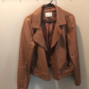 "Brown ""leather"" jacket"